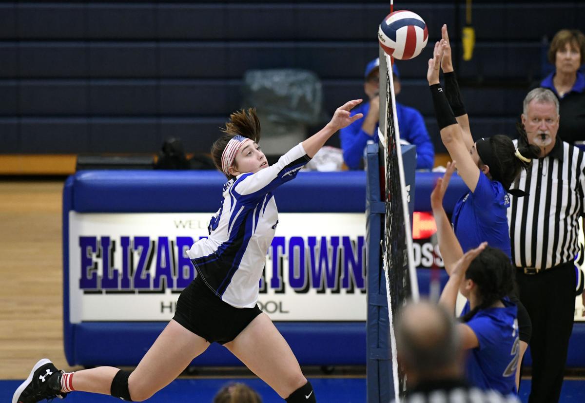 Elizabethtown vs Garden Spot-LL Girls Volleyball