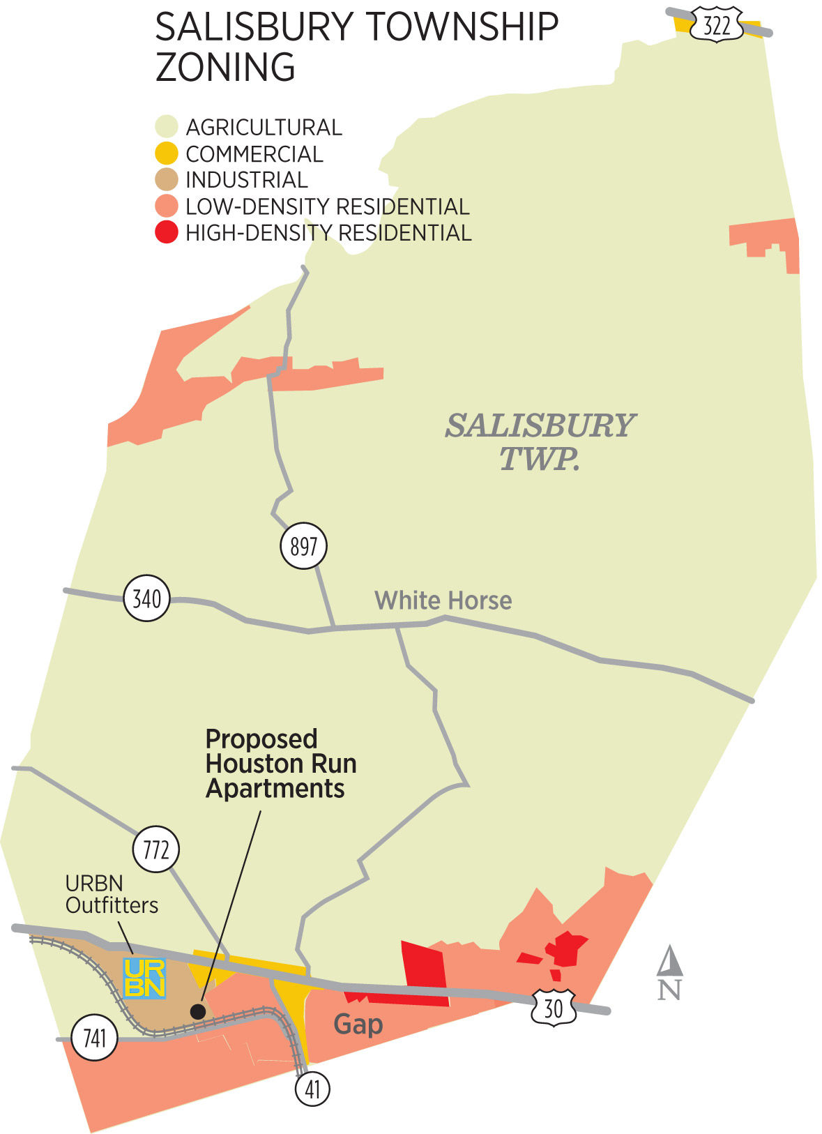 Salisbury Township Denies It Excludes Apartments Points To Land Available In Gap