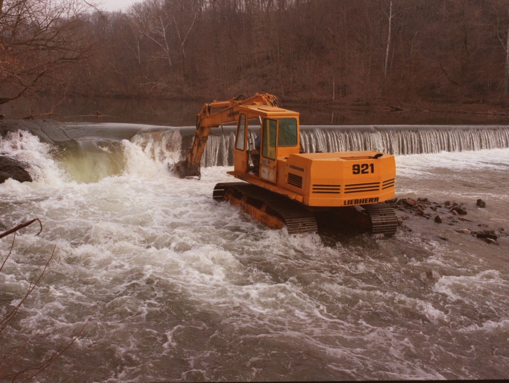 Rock Hill Dam removal