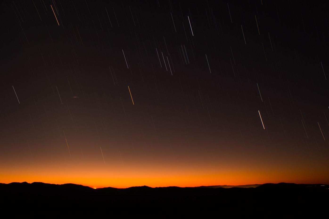 Meteor shower unsplash