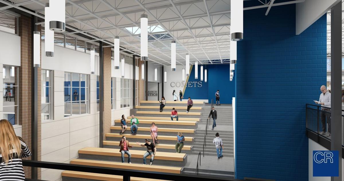 Penn Manor High School rendering