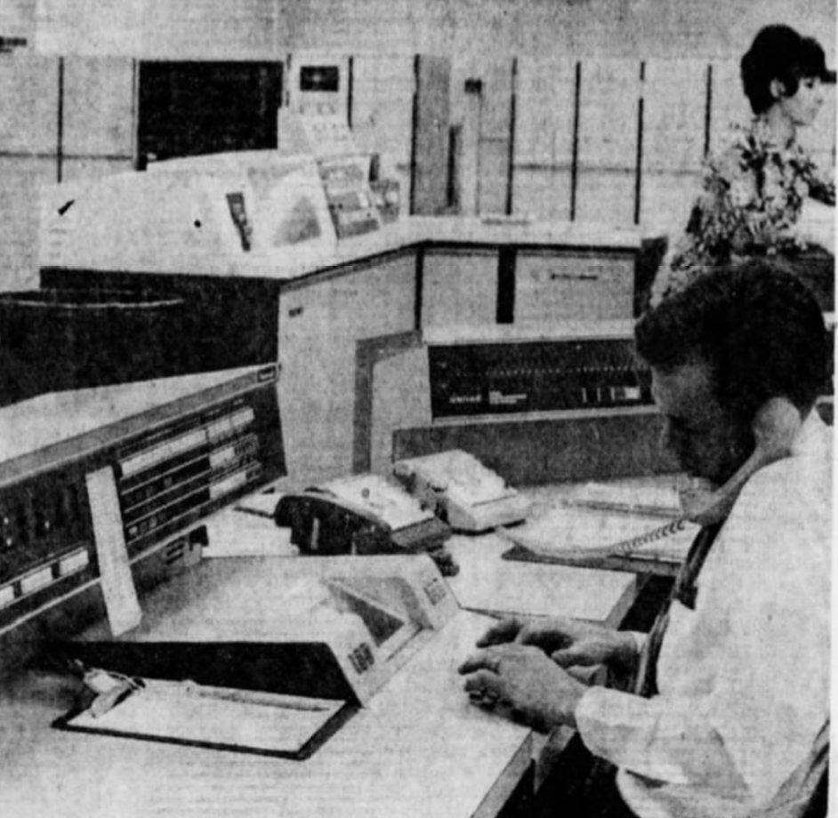 Police computer system, 1971 (2)