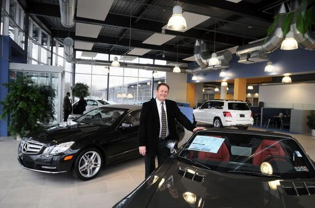 Charming Frank Nolt, Of Lancaster County Motors, Stands In The Showroom Of Mercedez  Benz Of Lancaster. (Richard Hertzler/Staff)