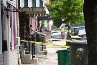 Police investigate shooting in Lancaster, May 17, 2019