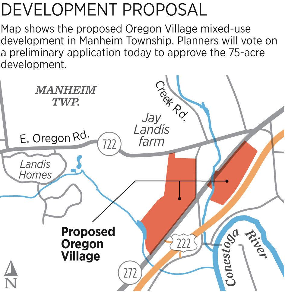 Oregon Village development hearing in Manheim Township