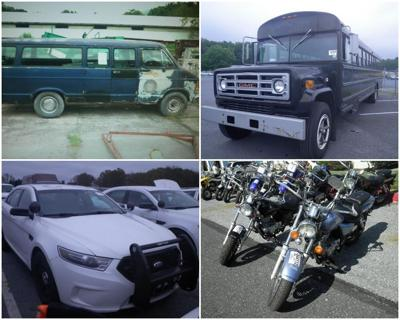 State Will Sell More Than 300 Trucks Cars Motorcycles In Public