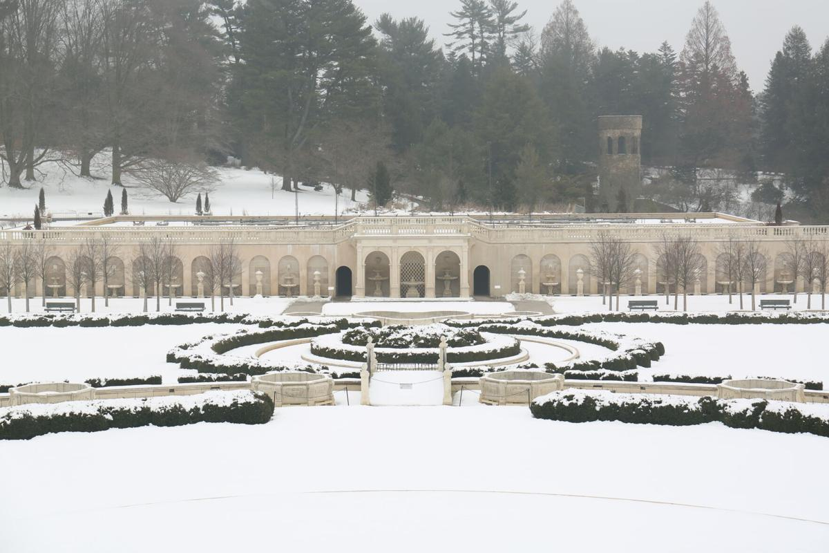 Longwood gardens winter 13