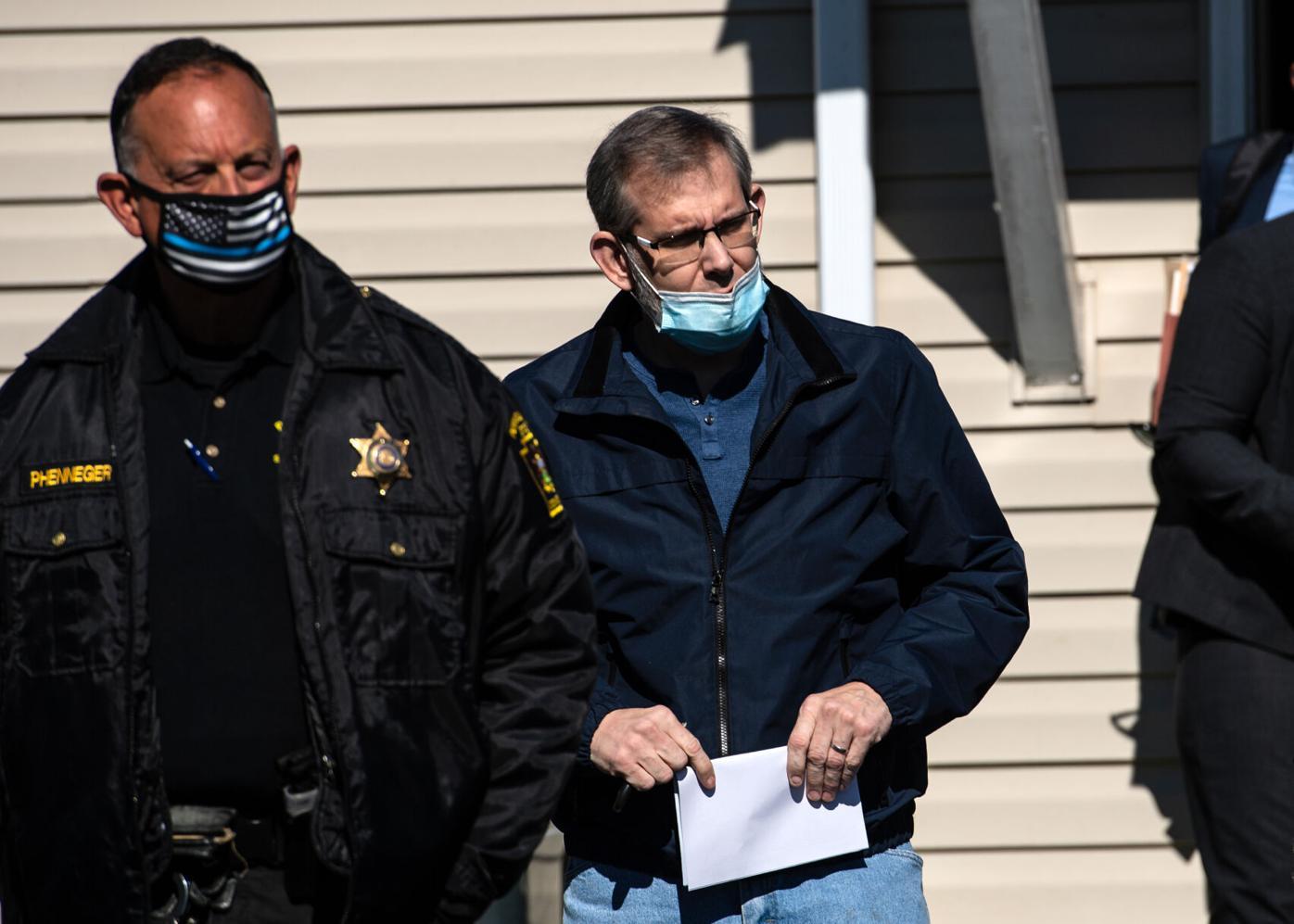 Andrew Scheid appears in court