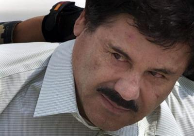 """Joaquin """"El Chapo"""" Guzman arrest photo 2/2014"""