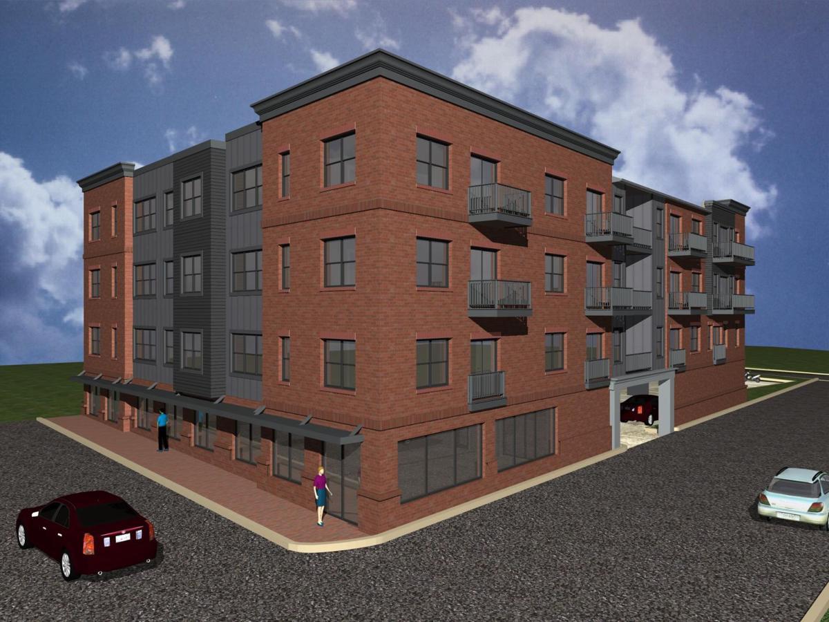 Locust Street rendering