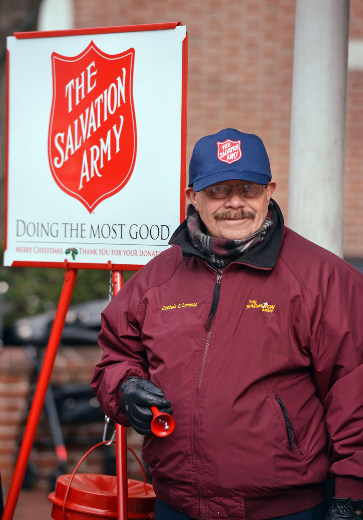 Salvation Army kettles 1