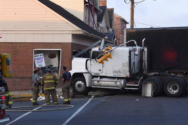 New Holland Borough tractor-trailer crash Sept. 11 2019