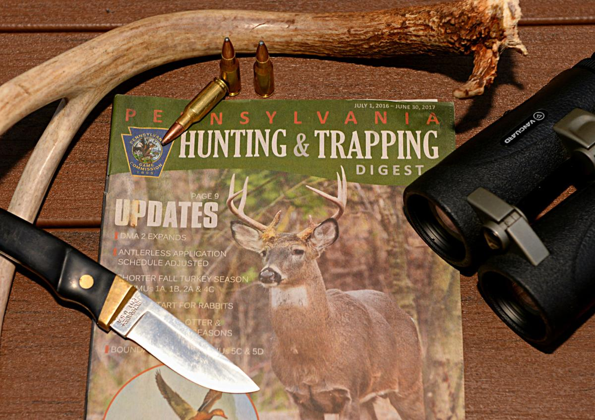 Pa hunters will pay for rules digest as hunting license for Pa fishing license online