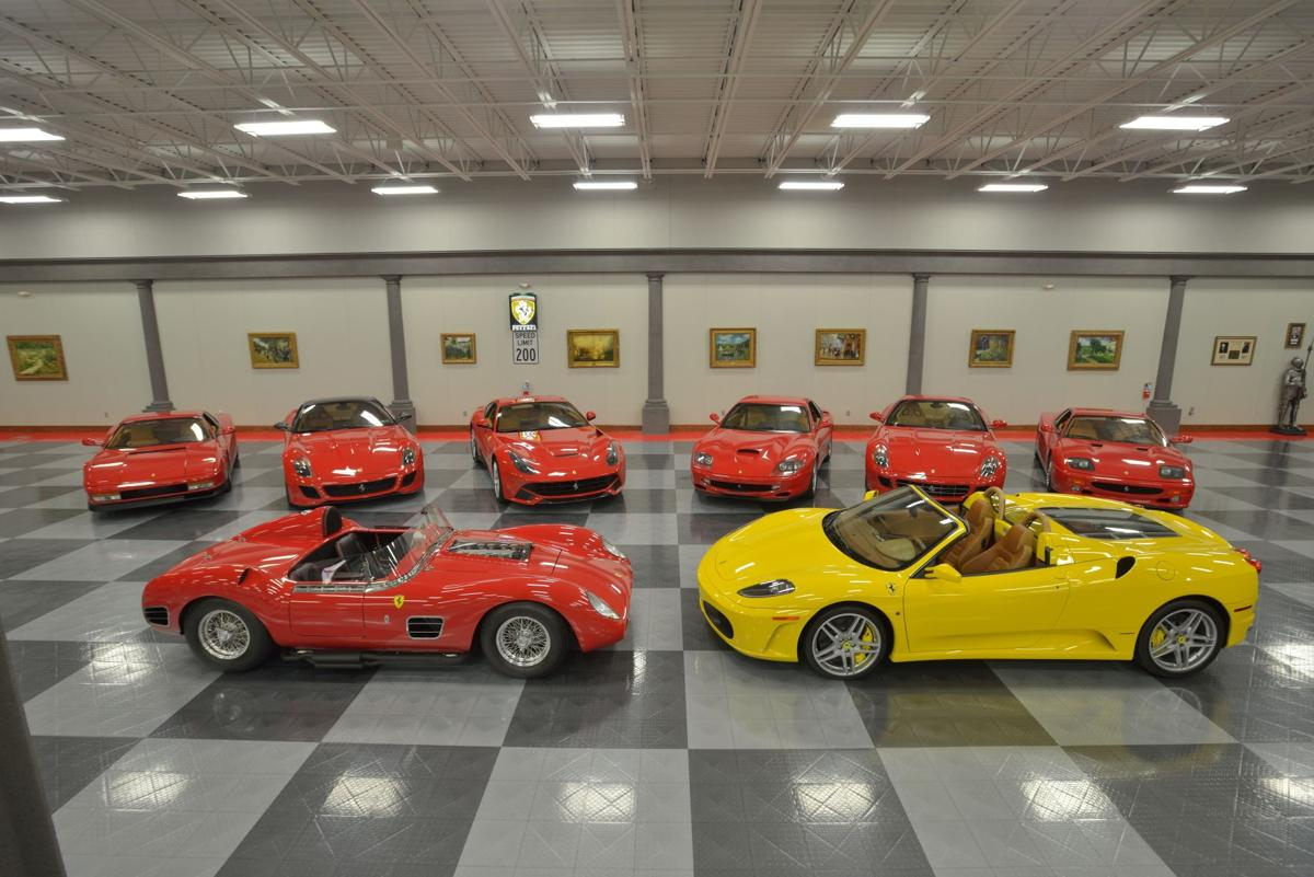 SC20_The Richard Welkowitz Estate Collection_Group Photo of Ferraris.jpg