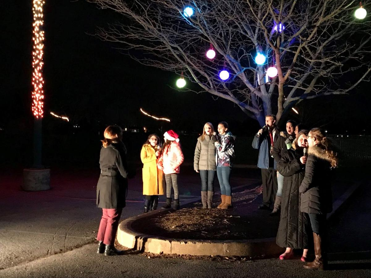 Conestoga Valley holiday lights