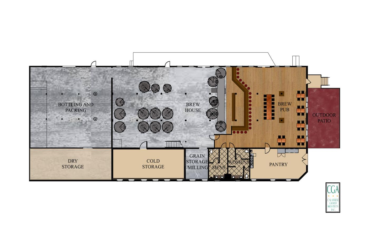 Spring House floor plan