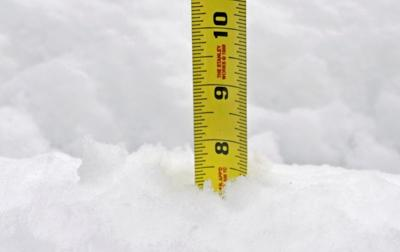 Image result for measuring snowfall