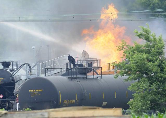 Investigators to probe butane fire that seriously injured man