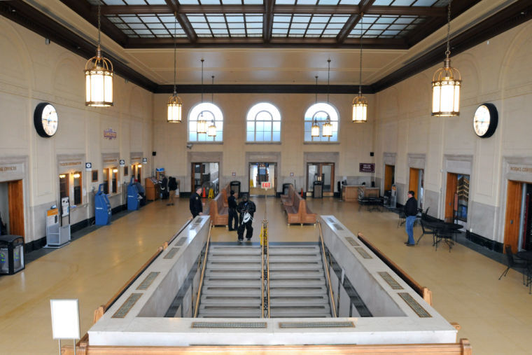 Lancaster Amtrak Station Called Complete Awaits Restrooms - Bathrooms on amtrak trains