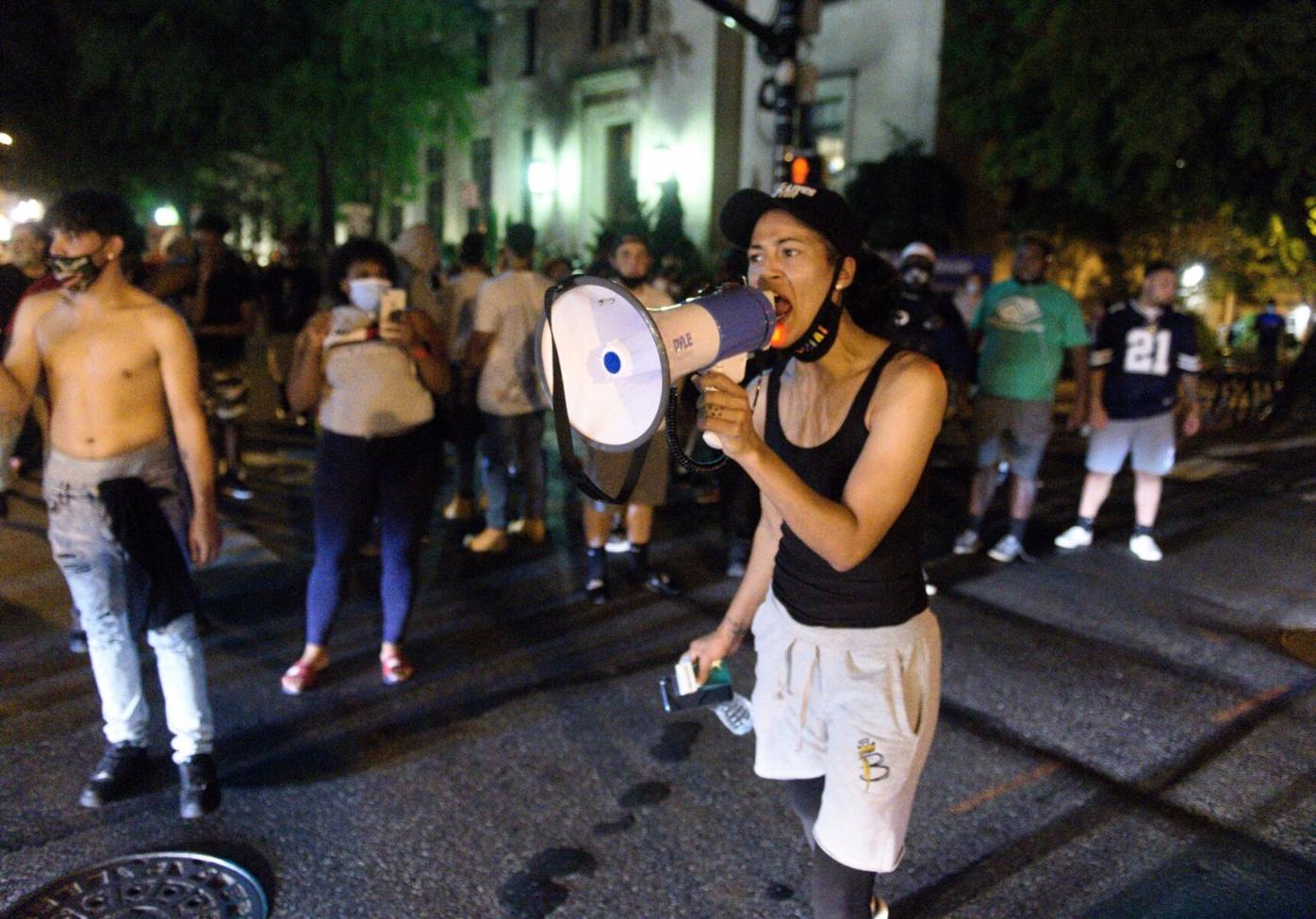 City police shooting protest