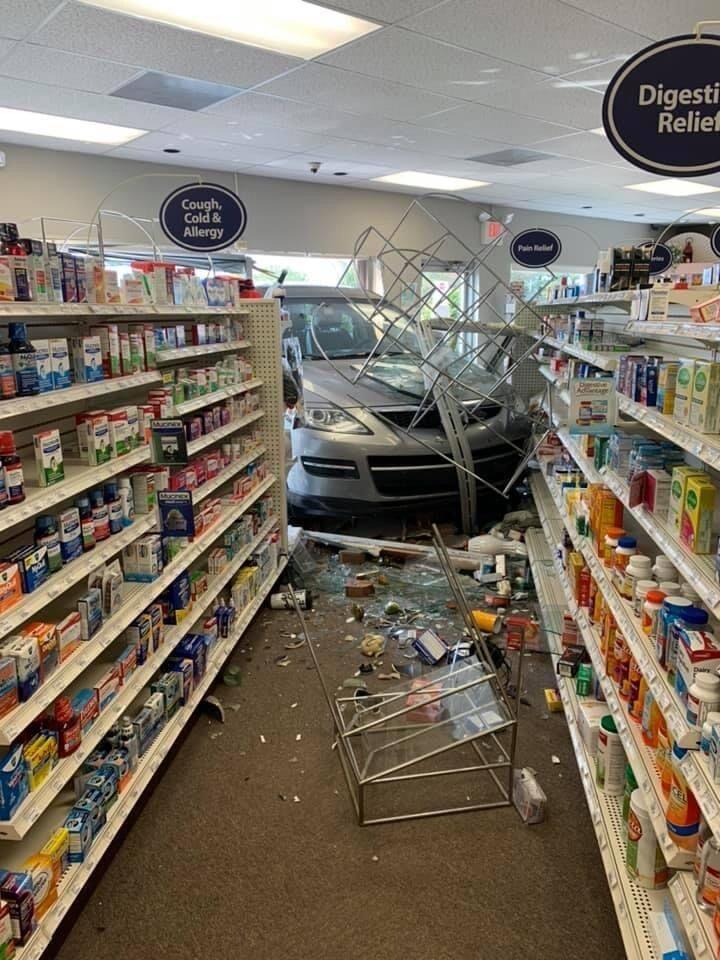 Wiley's Pharmacy accident