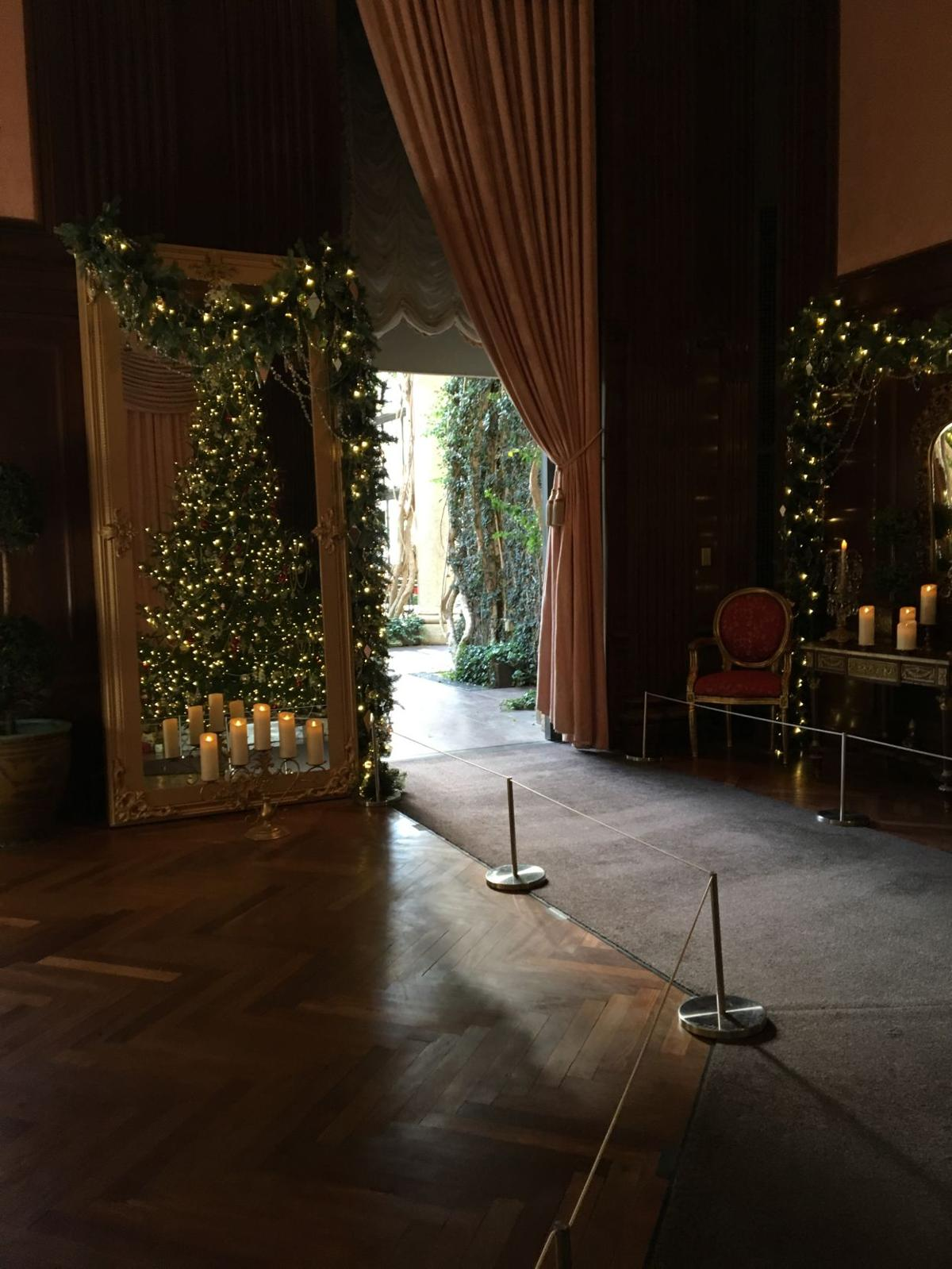 French-inspired holiday decor lights up Longwood Gardens ...