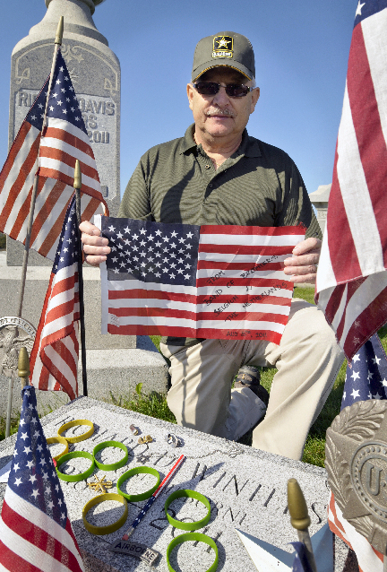 Winters 39 Grave Brings Admirers Concern News