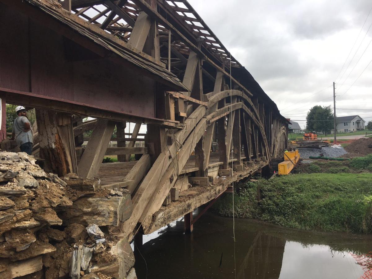 Herr's Mill covered bridge