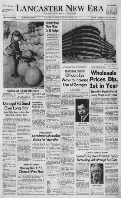 1971 front page