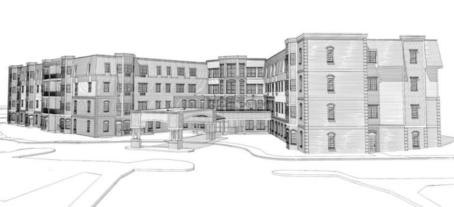 Firm plans to build four-story apartment building for seniors at ...