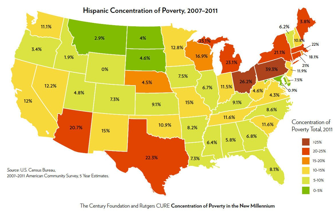 A Black Eye For Pennsylvania With Nearly Out Of Latinos - Where is poverty the worst in the world