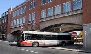Red Rose Transit bus