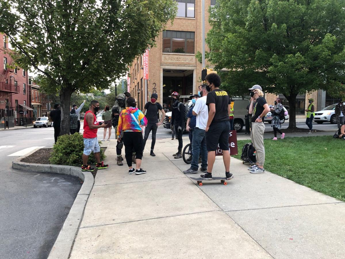Lancaster city protest, Sept. 14 2020
