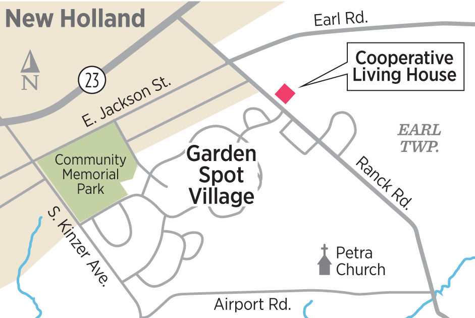 Garden Spot Village: cooperative living house