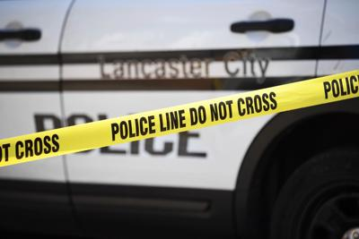 Lancaster city police tape