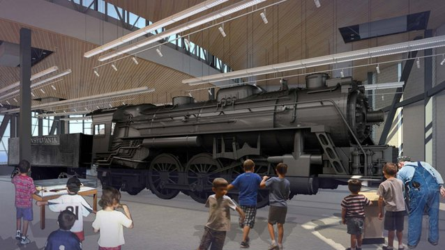 State railroad museum in Strasburg to build $6.1 million ... on railroad shops, on30 track plans, walthers track plans, 4x8 ho track plans, railroad roundhouses chicago, railroad yards in chicago, railroad structure plans, lionel train track layout plans, o gauge turntable plans, railroad water tower plans, railroad roundhouses missouri, railroad engine shed plans, ho scale turntable plans, railroad yard design, railroad turntable, railroad stations, railroad tracks, railroad roundhouses in ohio,