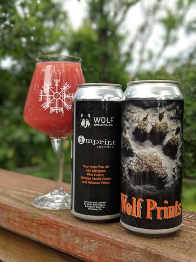 Wolf Brewing Co. and Imprint Beer Co. Wolf Prints