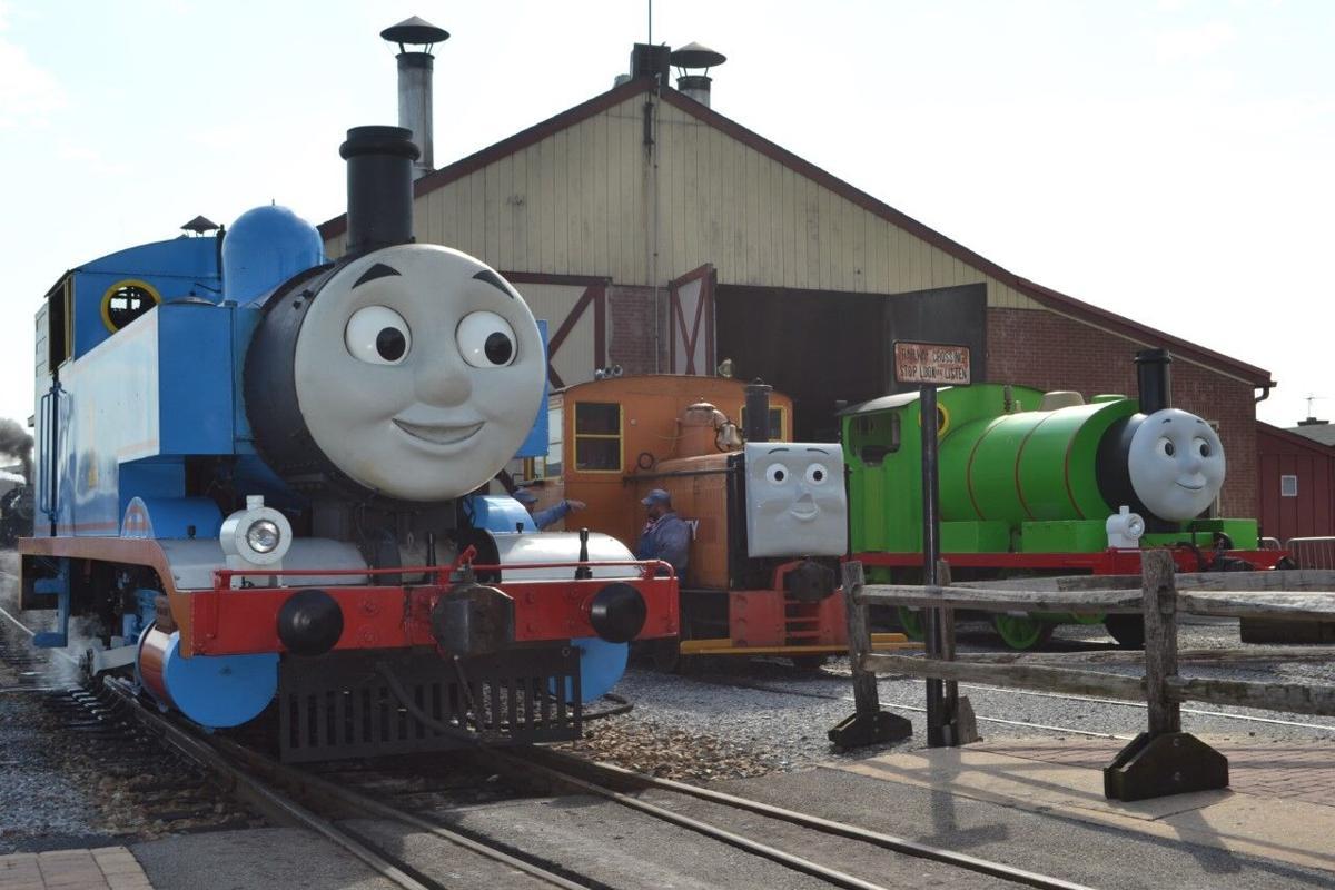 Thomas, Rusty & Percy