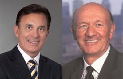 Thomas Beeman of LG Health and Ralph Muller of Penn Medicine