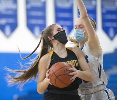 Lampeter-Strasburg vs Lancaster Mennonite-LL Girls Basketball