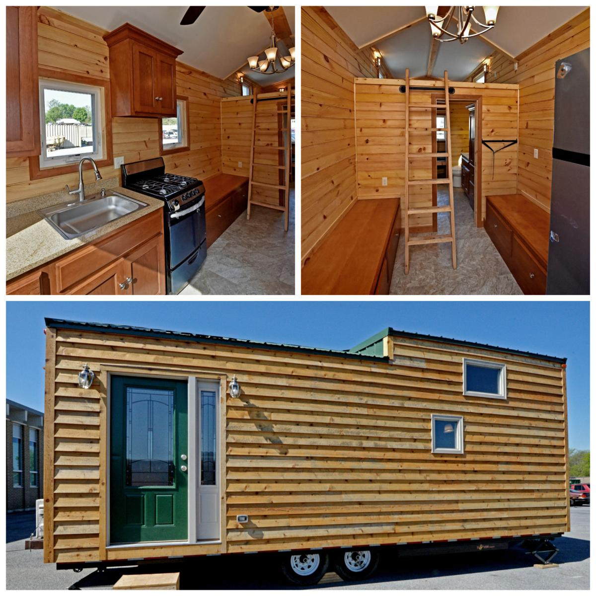 More than 200 high school students build tiny house to be sold for ...