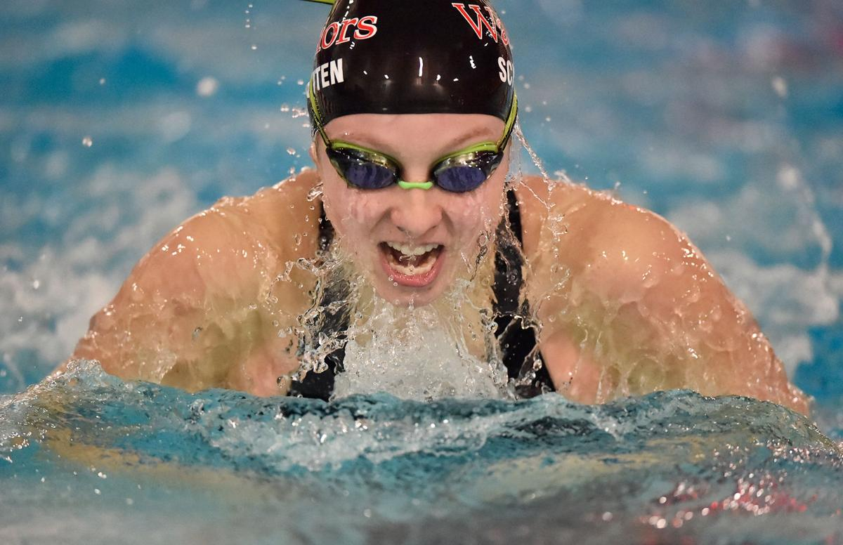 Warwick Girls Set Pair Of Marks Pile Up 158 Points To Claim L L Swimming Championship