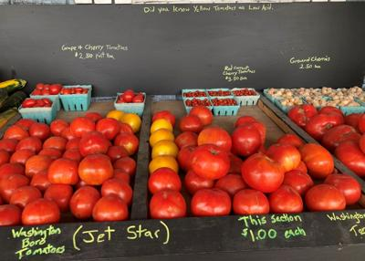 Tomatoes Funk Produce Stand