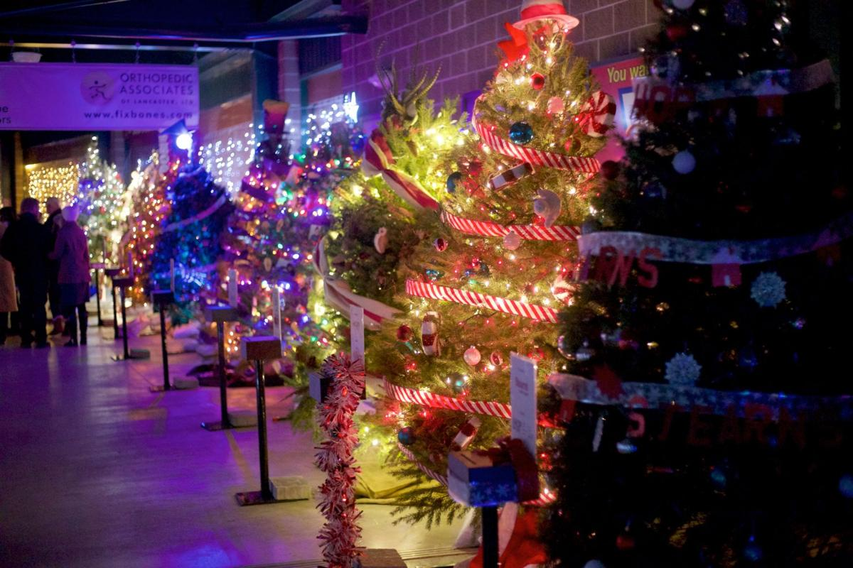 Christmas tree decorating contest at Clipper Stadium: did ...