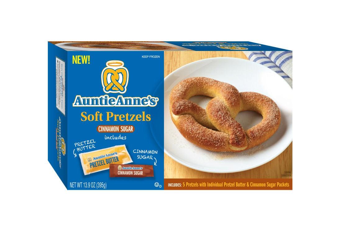 Auntie Annes Frozen Pretzels
