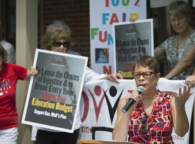 Fair Education Funding Protest