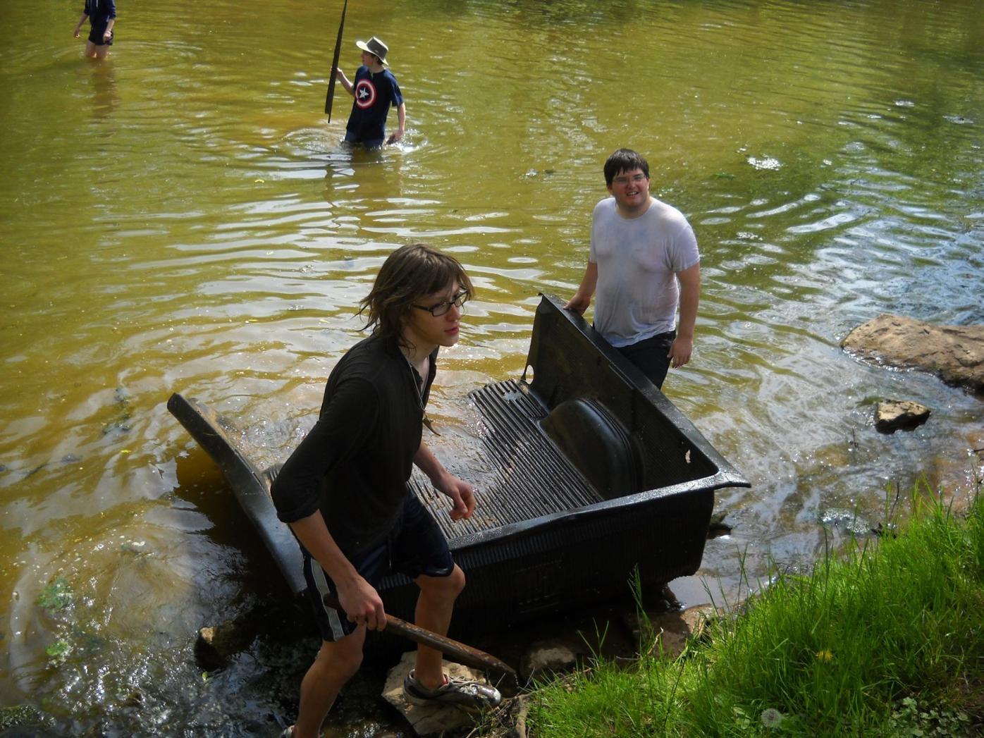 Conestoga river cleanup