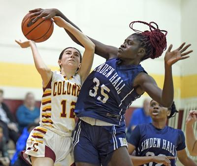 Linden Hall vs Columbia-Girls Basketball