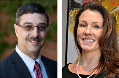 Ray D'Agostino and Shelby Nauman
