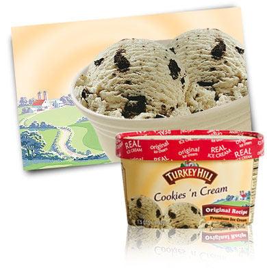 Turkey Hill Dairy cookies n' cream
